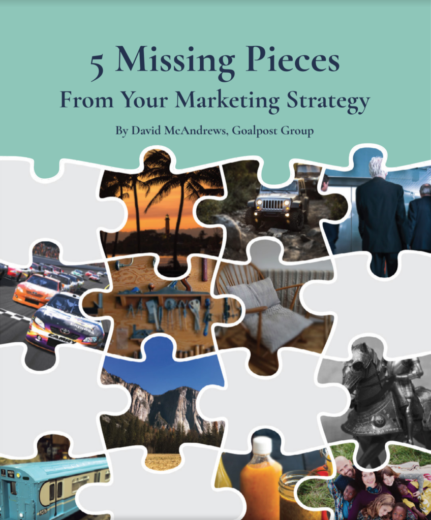 5 missing pieces